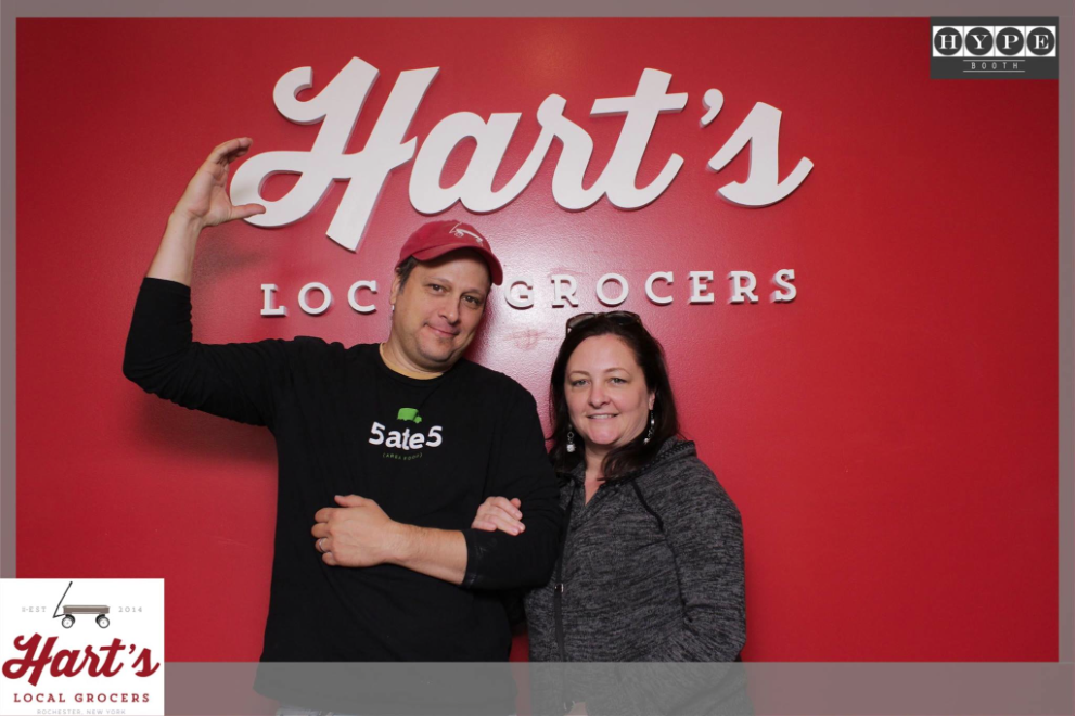 MYDARNDEST - Bill Klingensmith Hart's Local Grocers Signage Rochester, NY #hartslocalgrocers #signs #3dsign #branding