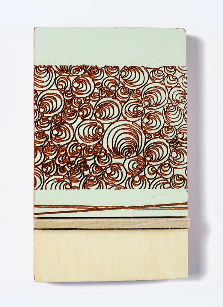 Study for CNC Paintings Work was displayed in MYDARNDEST Studio – Rochester, New York View more work at: https://mydarndest.com #art #design #maker #CNC #painting #wood