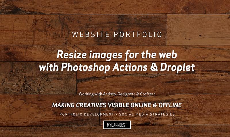 Bill Klingensmith MYDARNDEST Studio in Rochester, New York: Video Tutorial for Wordpress - Resizing Images