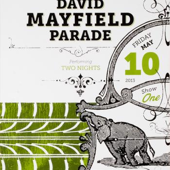 Bill Klingensmith MYDARNDEST Studio in Rochester, New York: David Mayfield Parade
