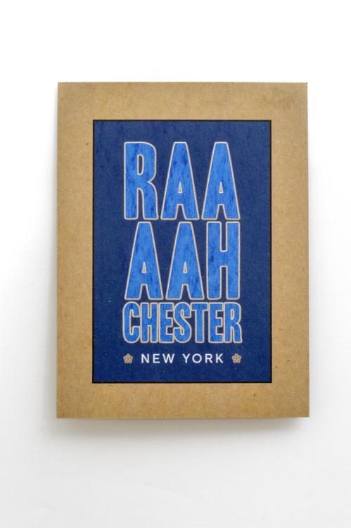 Bill Klingensmith MYDARNDEST Studio - Rochester, NY - Silkscreen Posters #civicPride #roc #RAAH #mydarndest