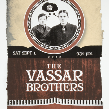 Bill Klingensmith MYDARNDEST Studio in Rochester, New York: VASSAR brothers