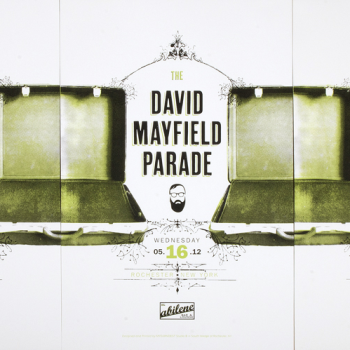 Bill Klingensmith MYDARNDEST Studio in Rochester, New York: David Mayfield Parade