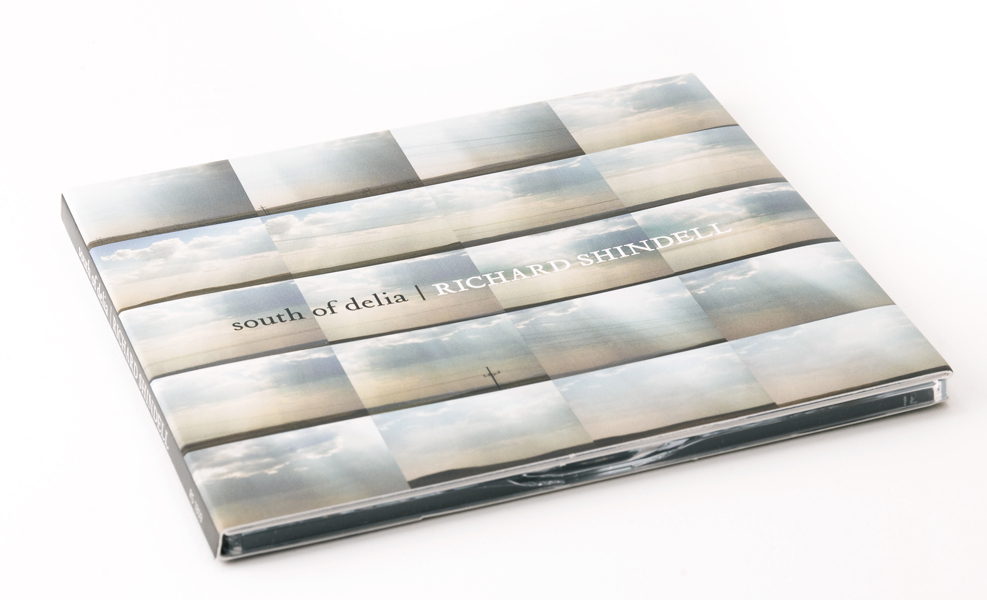 Bill Klingensmith MYDARNDEST Studio in Rochester, New York:CD Design for South of Delia by RIchard Shindell