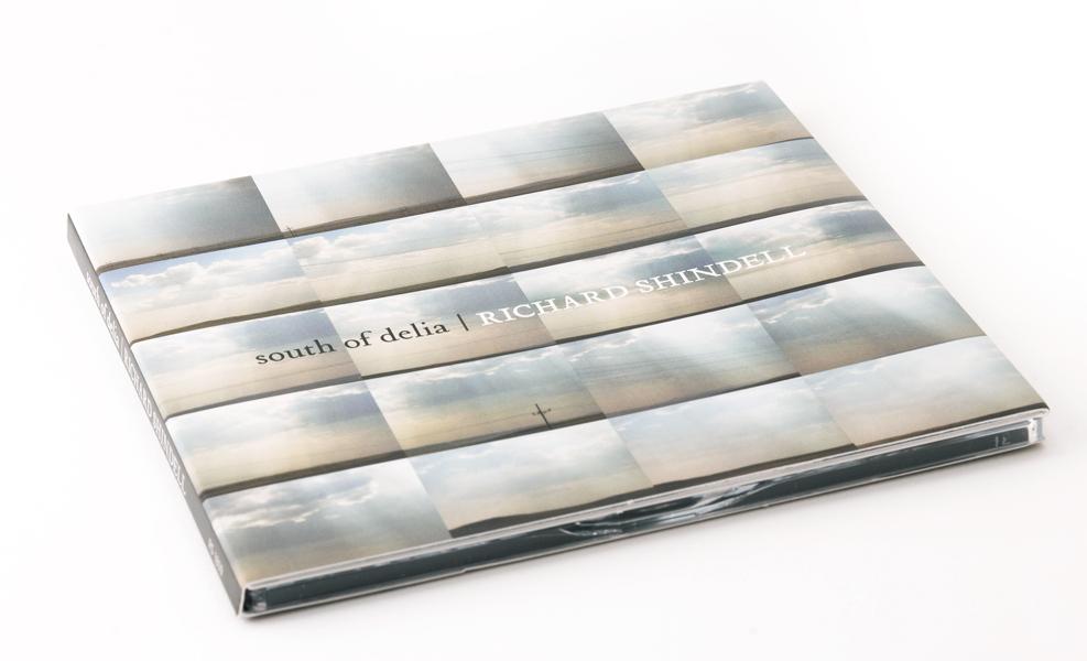 Bill Klingensmith MYDARNDEST Studio in Rochester, New York:CD Design for South of Delia by RIchard Shindell