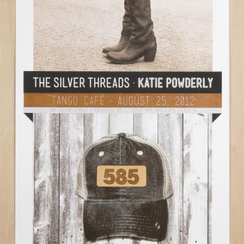 Bill Klingensmith MYDARNDEST Studio in Rochester, New York: Silver Threads and Katie Powderly
