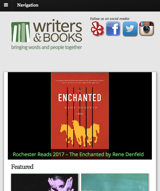 MYDARNDEST Writers & Books Website Screen Capture