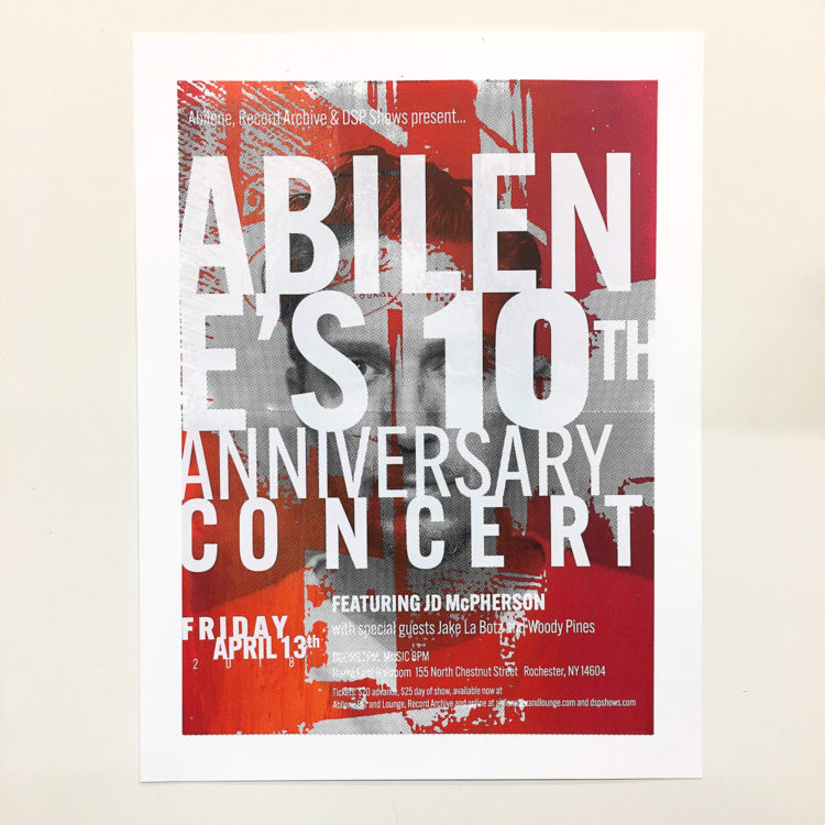Abilene Bar 10th Annivesary Concert with JD McPherson